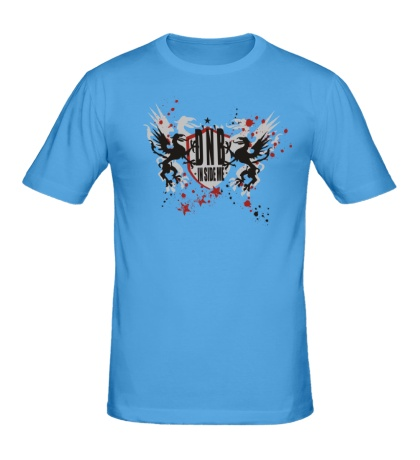 Мужская футболка «DnB in side me»