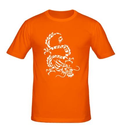 Мужская футболка Дракон-змей