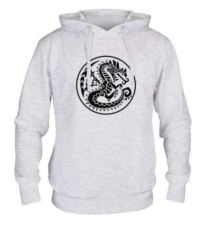 Толстовка с капюшоном Древний дракон