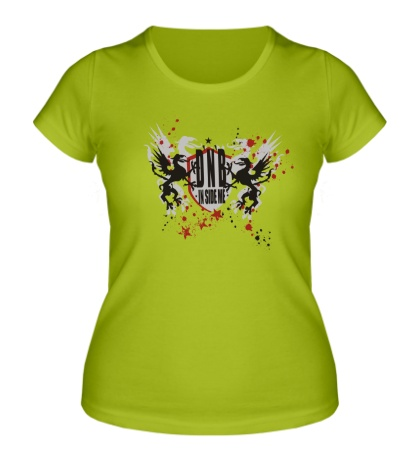 Женская футболка DnB in side me