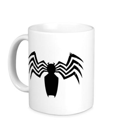Керамическая кружка Символ Человека-паука