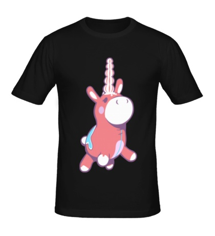 Мужская футболка Надувнорог