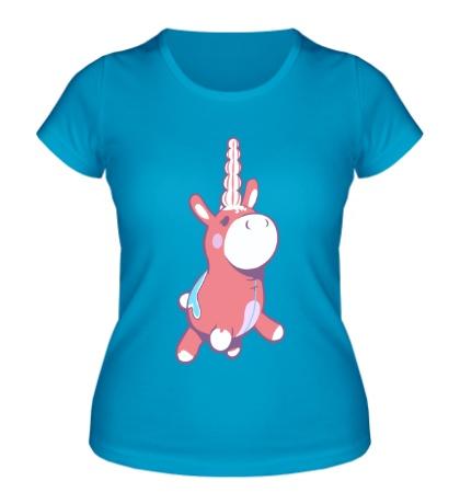 Женская футболка Надувнорог