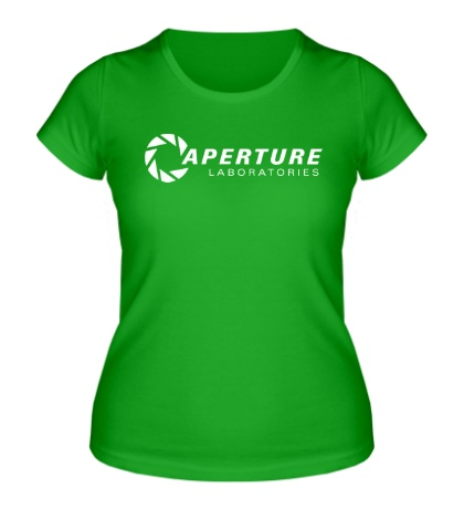 Женская футболка Aperture Laboratories