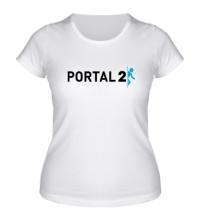 Женская футболка Portal 2