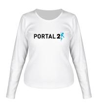 Женский лонгслив Portal 2