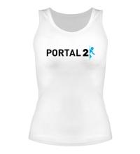 Женская майка Portal 2