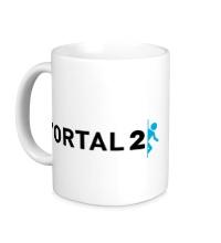 Керамическая кружка Portal 2