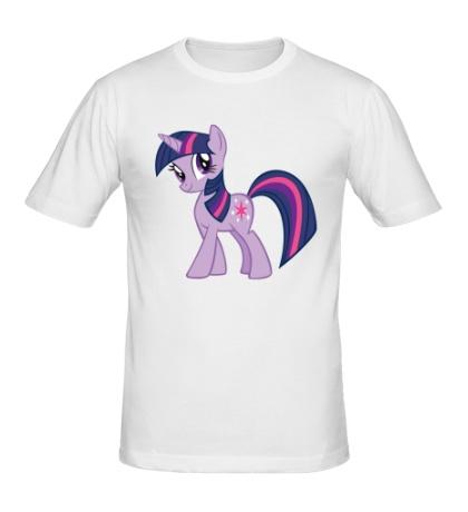 Мужская футболка Funny Twitight Sparkle