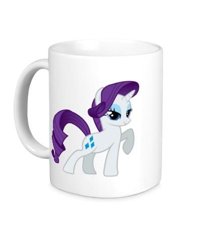 Керамическая кружка Rarity My little pony