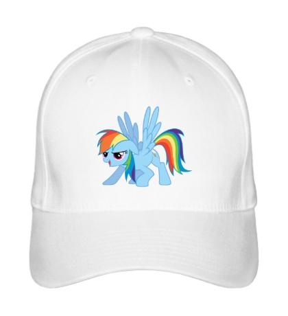 Бейсболка Funny Rainbow Dash