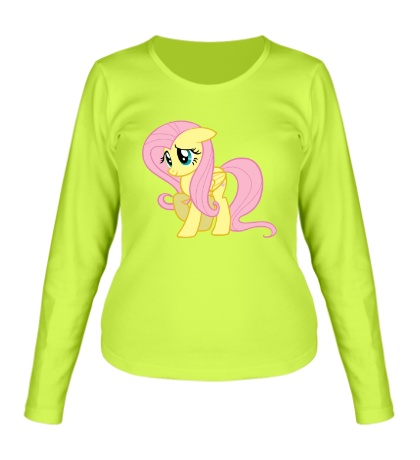 Женский лонгслив Fluttershy My little pony