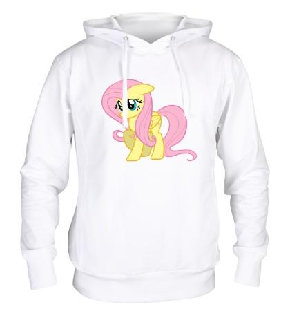 Толстовка с капюшоном Fluttershy My little pony
