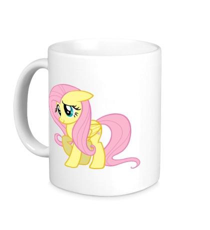 Керамическая кружка Fluttershy My little pony