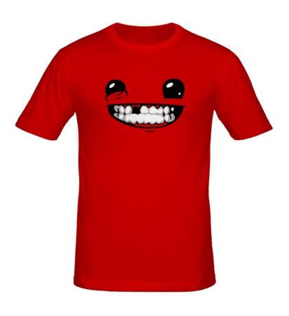 Мужская футболка Super Meat Boy