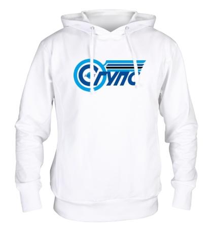 Толстовка с капюшоном НИИЖТ СГУПС логотип