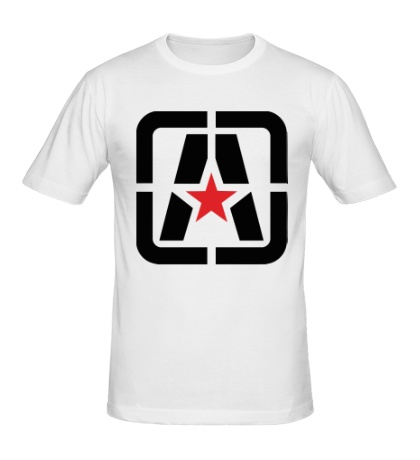 Мужская футболка Символ Антифы