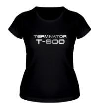 Женская футболка Terminator T-800