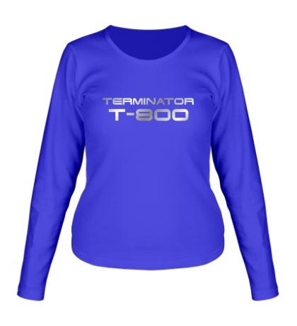 Женский лонгслив Terminator T-800