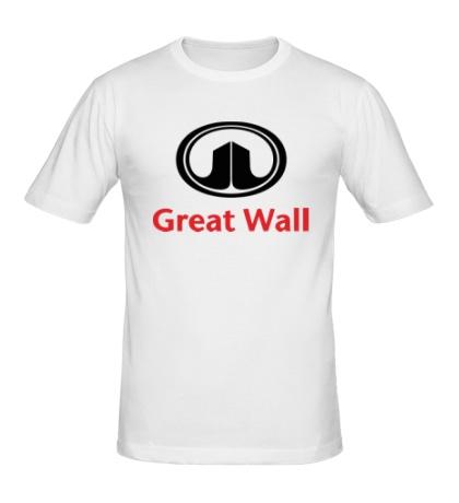 Мужская футболка Great Wall logo