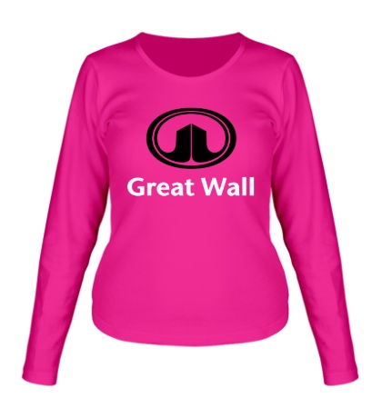 Женский лонгслив Great Wall logo