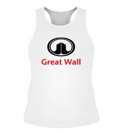 Мужская борцовка Great Wall logo