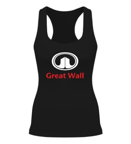 Женская борцовка Great Wall logo
