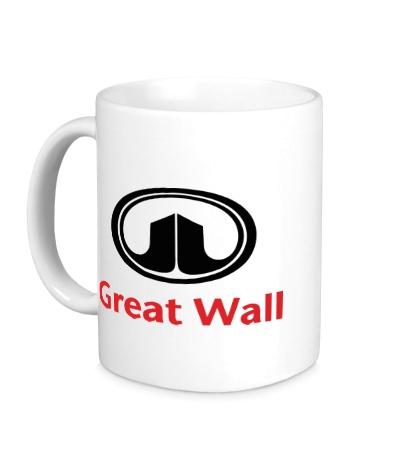 Керамическая кружка Great Wall logo