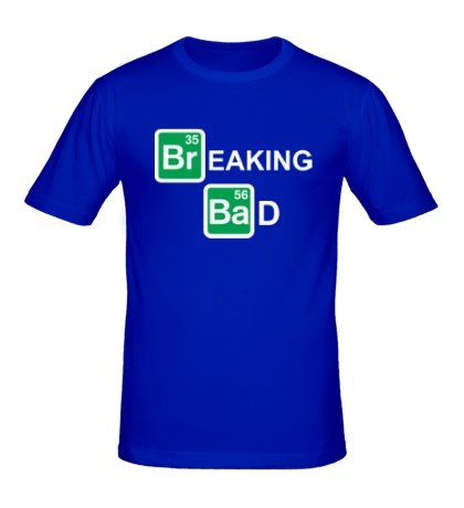 Мужская футболка Breaking Bad logo