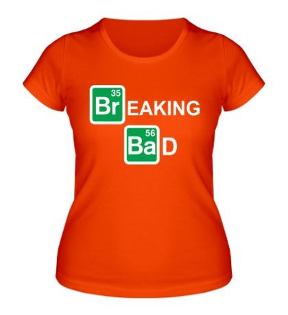 Женская футболка Breaking Bad logo