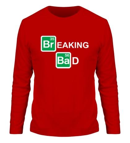 Мужской лонгслив Breaking Bad logo