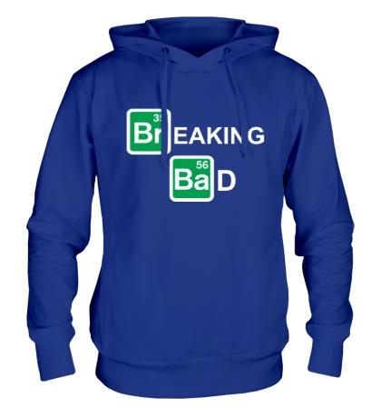 Толстовка с капюшоном Breaking Bad logo