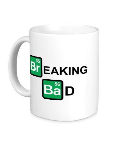 Керамическая кружка Breaking Bad logo