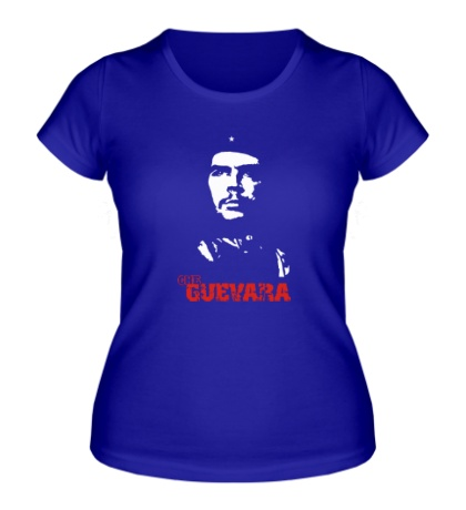 Женская футболка Che Guevara