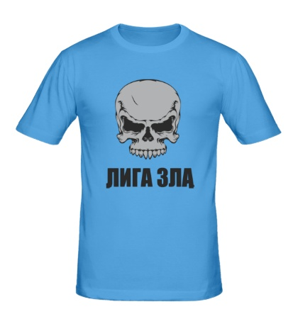 Мужская футболка Череп лиги зла