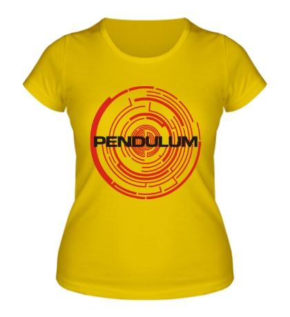 Женская футболка Pendulum