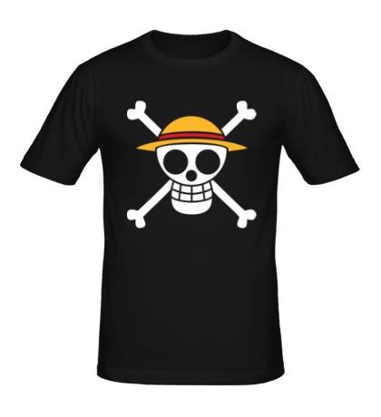 Мужская футболка Флаг Луффи