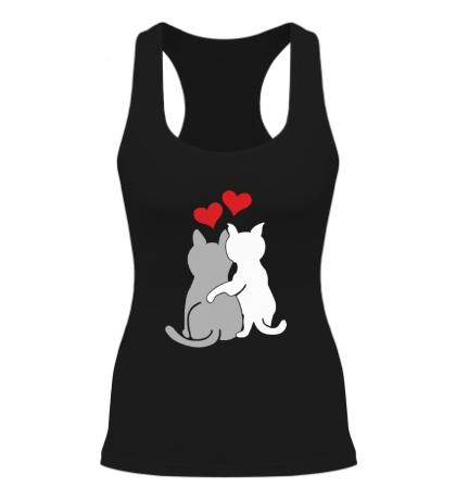Женская борцовка Влюбленные котята
