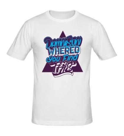 Мужская футболка Damn Son Whered You Find This
