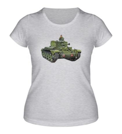 Женская футболка Mk. VIII Centaur
