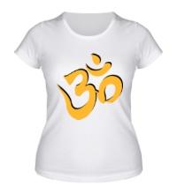 Женская футболка Символ ОМ