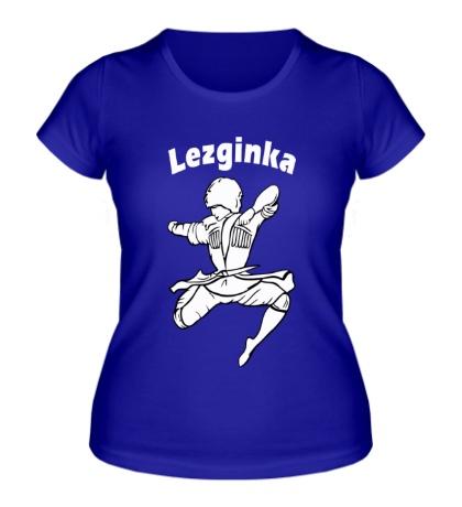 Женская футболка Лезгинка