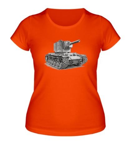 Женская футболка КВ-2