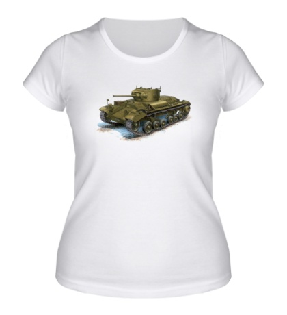 Женская футболка Mk. III Valentine