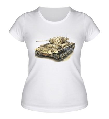 Женская футболка Mk. III Valentine UK