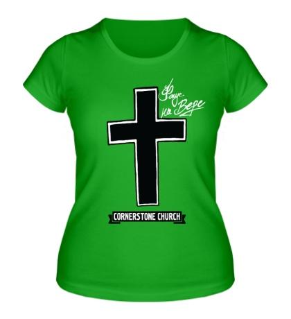 Женская футболка SWAG Cross