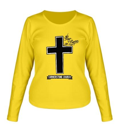 Женский лонгслив SWAG Cross