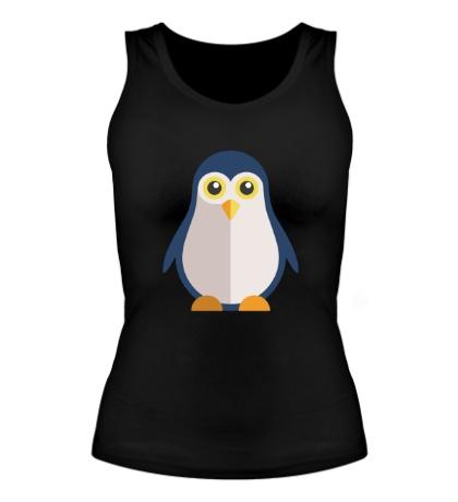 Женская майка Пингвин
