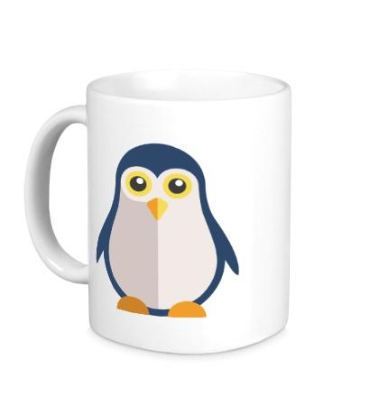 Керамическая кружка Пингвин