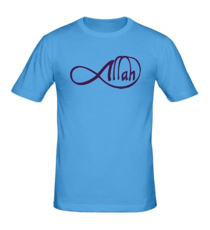 Мужская футболка Allah infinite